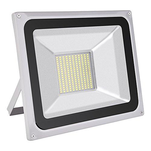 Reflector LED, HimanJie, aluminio, exterior, luz blanca