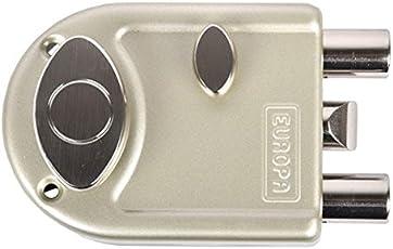 Europa Locks 7013 Main Smart Key Mdl I Door Locks (Nickel Silk)