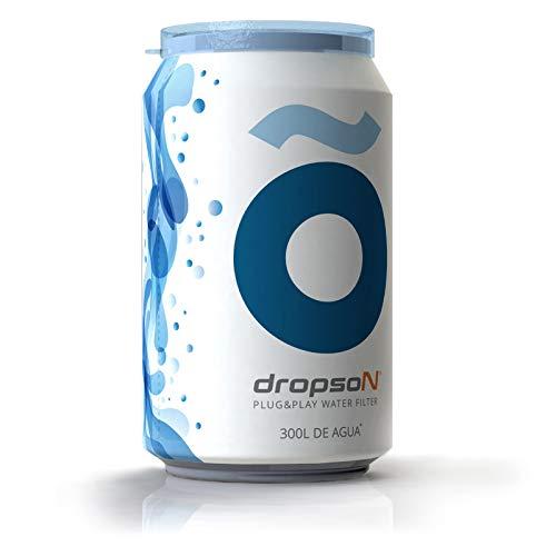 Dropson Lata filtrante Filtro de Agua para Grifo