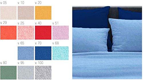 Telo arredo copritutto 2 misure prodotto italia foulard multiuso melange 13 colori tinta unita beige grigio panna rosso arancio verde azzurro blu 6taarcb