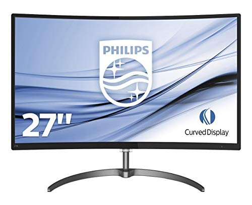 Philips 276E8VJSB, Monitor Uhd 4K (Resolución 3840 X 2160, Flickerfree, Lowblue Mode, 5Ms, IPS, Hdmi, Displayport), HDMI, 27 Pulgadas, Negro