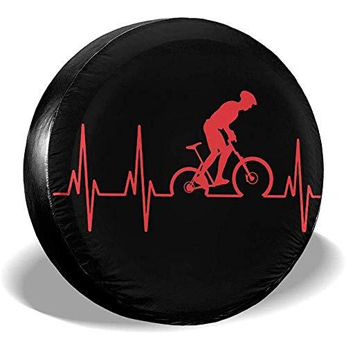 Alice Eva Copriruota Universale Antipolvere Antipioggia per Mountain Bike Battito Cardiaco
