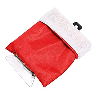 Ting-Times Detachable Ice Scraper, Cars Windshield Waterproof Detachable Cool Tool Winter Car Snow Removal Shovel Assistant Cleaning Car Windshield and Windows Tools (Red)