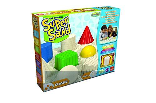 Super Sand- Classic Arena Mágica, Color Natural, 32.3 x 26.9 x 6.3 (Goliath 83216)