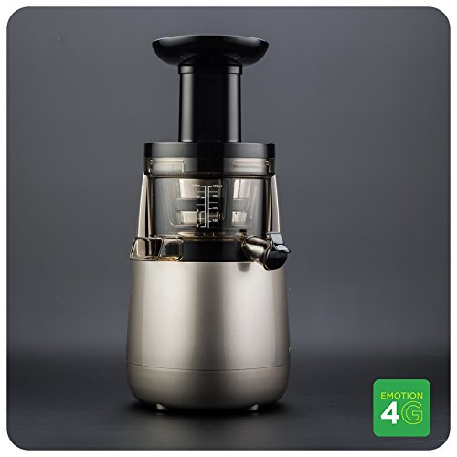 Versapers Emotion 4G – juice makers (Silver, Slow juicer)