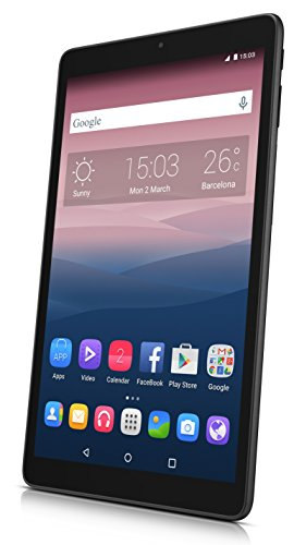 Alcatel Pixi 3   Tablet DE 10'' HD (WiFi, Procesador QuadCore 1.3GHz, 1GB de RAM, 8 GB de Memoria Interna, Android 5), Negro