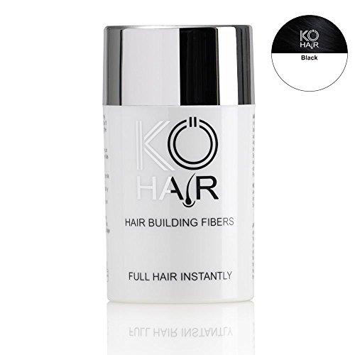 KÖ-HAIR Fibers Relleno para el cabello para un aumento del cabello Color negro