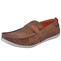 Fausto 1055-43 Tan Mens Loafers