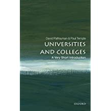 Universities and Colleges: A Very Short Introduction (Very Short Introductions)