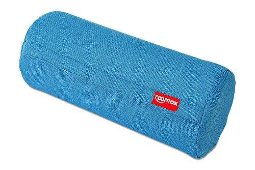 Roomox KISSENROLLE Noodle universell einsetzbar mit besten Komfort Ø 17,5 x 42 cm, UVP 49 EUR, Aktionpreis-20 Kissen Stoff Aquagrün- Türkis 42x18x18 cm
