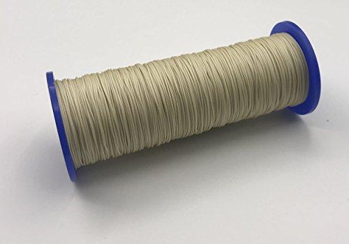 30 Meter Schnur für Plissees 0,8 mm - creme-beige (hellgelb) - Plisseeschnur - Spannschnur für Plissee - ps FASTFIX