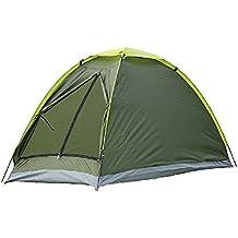 EverTrust (TM) Reino Unido al aire libre Camping pesca tienda de campaña single layer impermeable portátil protección UV tiendas 1person