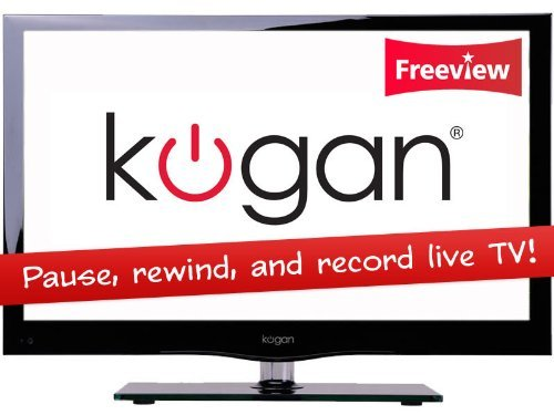 "Kogan 26"" HD Ready LED * TV with DVD player & PVR - PRO Series"