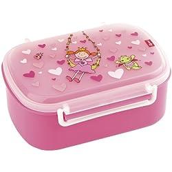 Sigikid 24472 - Portamerenda per bambine con stampa colorata Pinky Queeny, colore: Rosa