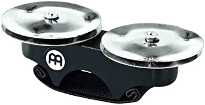 Meinl FJS1S-BK - Cascabeles de dedo para cajón (acero)
