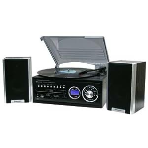 Roadstar HIF-8888TUMPN Tourne disque CD / mp3  Radio FM 32 W