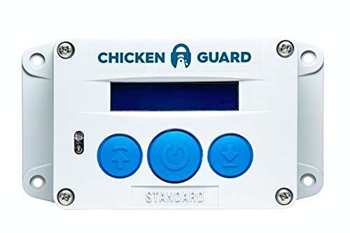 ChickenGuard® Standard Automatische Türöffner für den Hühnerstall, Automatische Hühnerklappe, mit Timer. Direkt Vom Hersteller