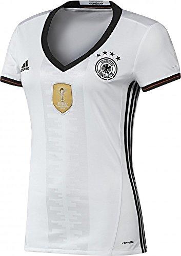 adidas Damen DFB Home Trikot EM 2016 white/black XXL