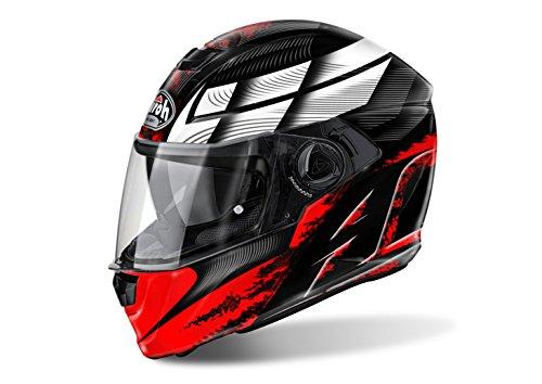 Airoh - casco moto airoh storm starter red gloss stst55 - cast3e - xl