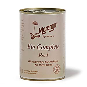 Marengo Hunde Feuchtnahrung in der Dose Bio Complete 400 g 400 g