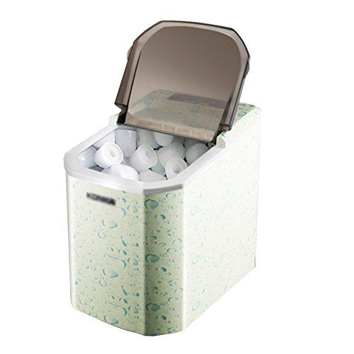 Nan Eismaschine Macht Rundes Eis in 8 Minuten | Großer Kraftstofftank mit Einer Kapazität von 15 kg | Kein Rohr erforderlich | 95W Leistung Eismaschine