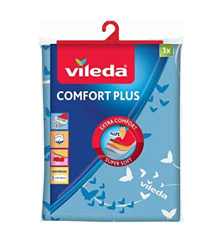 Vileda Comfort Plus Bügelbrettbezug, blau, 130x40