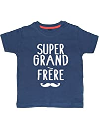 SUPER GRAND FRERE' Tee shirt marine