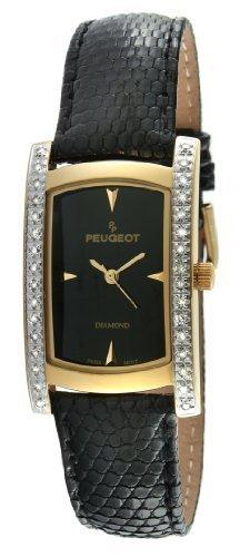 Peugeot-Secondo le donne s 1733 Lizard Skin-G con diamante 1/2 ct con zircone, edizione limitata-Orologio svizzero