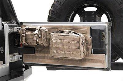 smittybilt-5662324-jeep-wrangler-gear-tailgate-cover-2007-jk-tan-by-smittybilt