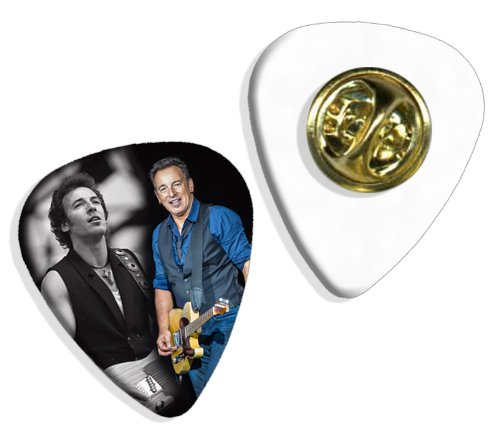 Bruce Springsteen (WK) Live Performance Gitarre Plektrum Pick Abzeichen Badge