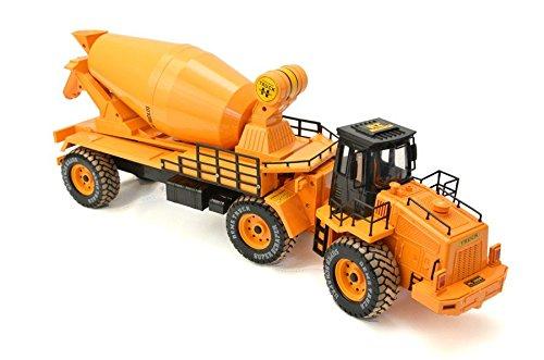 GÉNÉRIQUE RC Simulation Model Truck LKW Concrete Blender Scale 118 (098A-2)