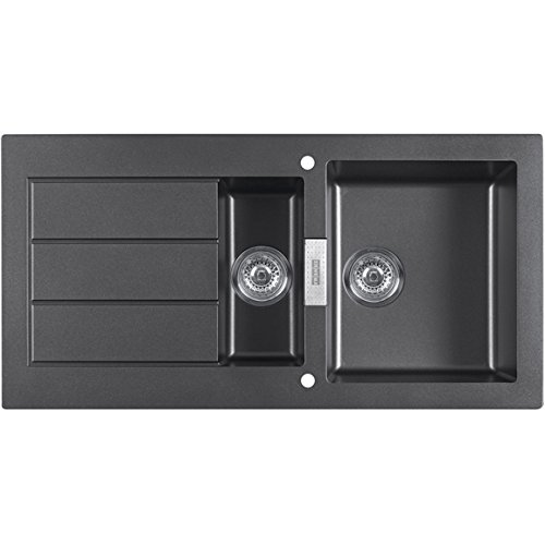 Kitchen Sink Waste Franke sid651 sirius 15 bowl black tectonite reversible kitchen franke sid651 sirius 15 bowl black tectonite reversible kitchen sink waste workwithnaturefo