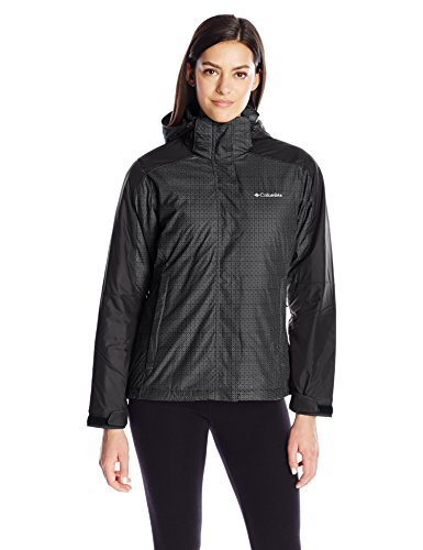 Nordic Womens Jacket (Columbia Women's Nordic Cold Front Interchange Jacket, Light Grape/Inkling, X-Large)