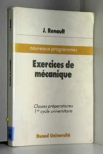 EXERCICES DE MECANIQUE. Mécanique classique, mécanique relativiste et notions d'hydrodynamique, 234 exercices classés avec rappels de cours et solutions abrégées, 2ème édition
