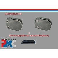 Pmc Zinc ROH Cristal Soporte Conector plano panel de seguridad (Mod: 09