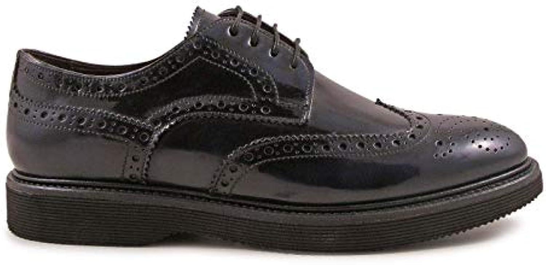 LEONARDO scarpe Stringate Uomo 4762SPAZZOLATOblu Pelle Blu | Premio pazzesco, pazzesco, pazzesco, Birmingham  | Gentiluomo/Signora Scarpa  4ed60a