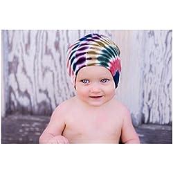 Earth Tone Tie Dye Hat, Size: 4-6y