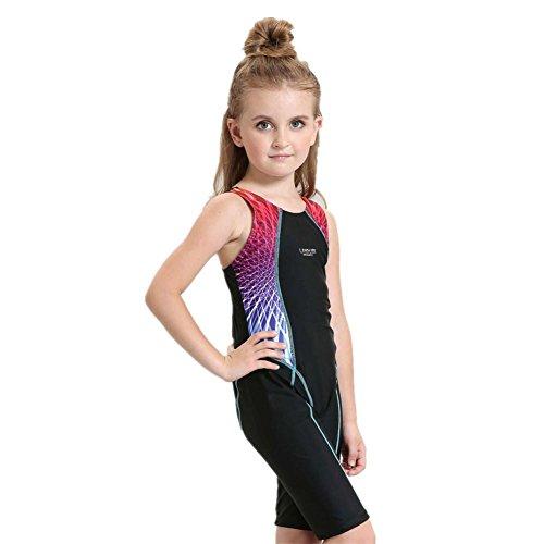 SHISHANG Kinder Bikini Körperwinkel Umweltschutz dauerhaft Mädchen Europa und den Sport-Badeanzug Kinder Vereinigten Staaten Einteiler Blue