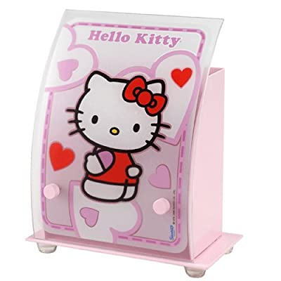 Dalber Hello Kitty Tischlampe 35251 Pink Rosa Kinderlampe Kinderzimmer Lampe Leuchte Kinderzimmerlampe von Dalber bei Lampenhans.de