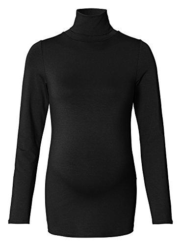 Queen Mum Women's Maternity Female Langarmshirt Black