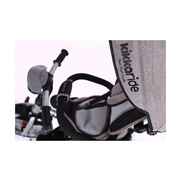 Kikka Boo 31006020043 Sports Trolley Kikka Boo KIKKA BOO strollers and strollers Sports prams and strollers for unisex children. Nikki Tricycle Melagne Grey (31006020043) 3
