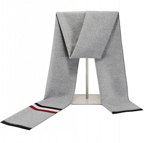 Männer Cashmere Schal Herbst Winter Plaid Verlängert Verdickung Schal Comfort Soft Knit Classic Fashion Kopfschmuck Gewickelt Umhang,G-180*30cm - Alpaka Knit Hat
