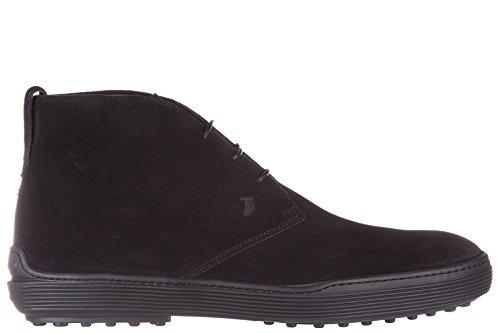 tods-botines-zapatos-en-ante-hombres-nuevo-negro-eu-415-xxm0xf0n460re0b999