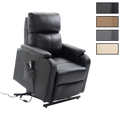 CARO-Möbel Relaxsessel Senior Fernsehsessel Ruhe TV Sessel mit Elektrischer Aufstehfunktion, Verstellbare Rückenlehne und Fußteil in 2 Farben