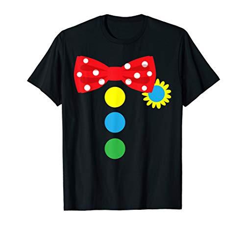 Lustige Clown-Kostüm-Halloween-Zirkus Geschenk JT T-Shirt (Karneval Im Zusammenhang Kostüm)