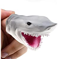 Flower205 White Shark Finger Pointer, Shark Finger Toy, Storytelling Props Make the Story Vivid - Compare prices on radiocontrollers.eu