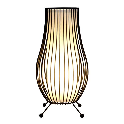 Lampe a poser Lampes table et chevet métal lampe de chevet salon abat jour (Iron 1)