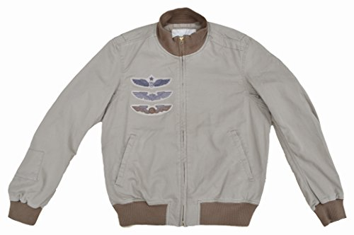 Ralph Lauren – Denim & Supply – Bomberjacke Jacke Military Bomber Jacket Sand Beige (M) - 3