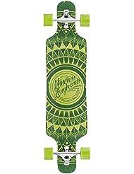 Drop Through Longboard 2 Mindless Sanke/Cruiser verde - 99,06 cm