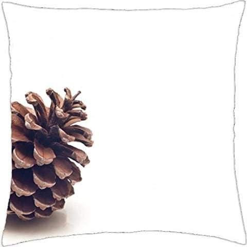 Pine Cone–Throw Pillow Cover Case (45,7x 45,7cm)